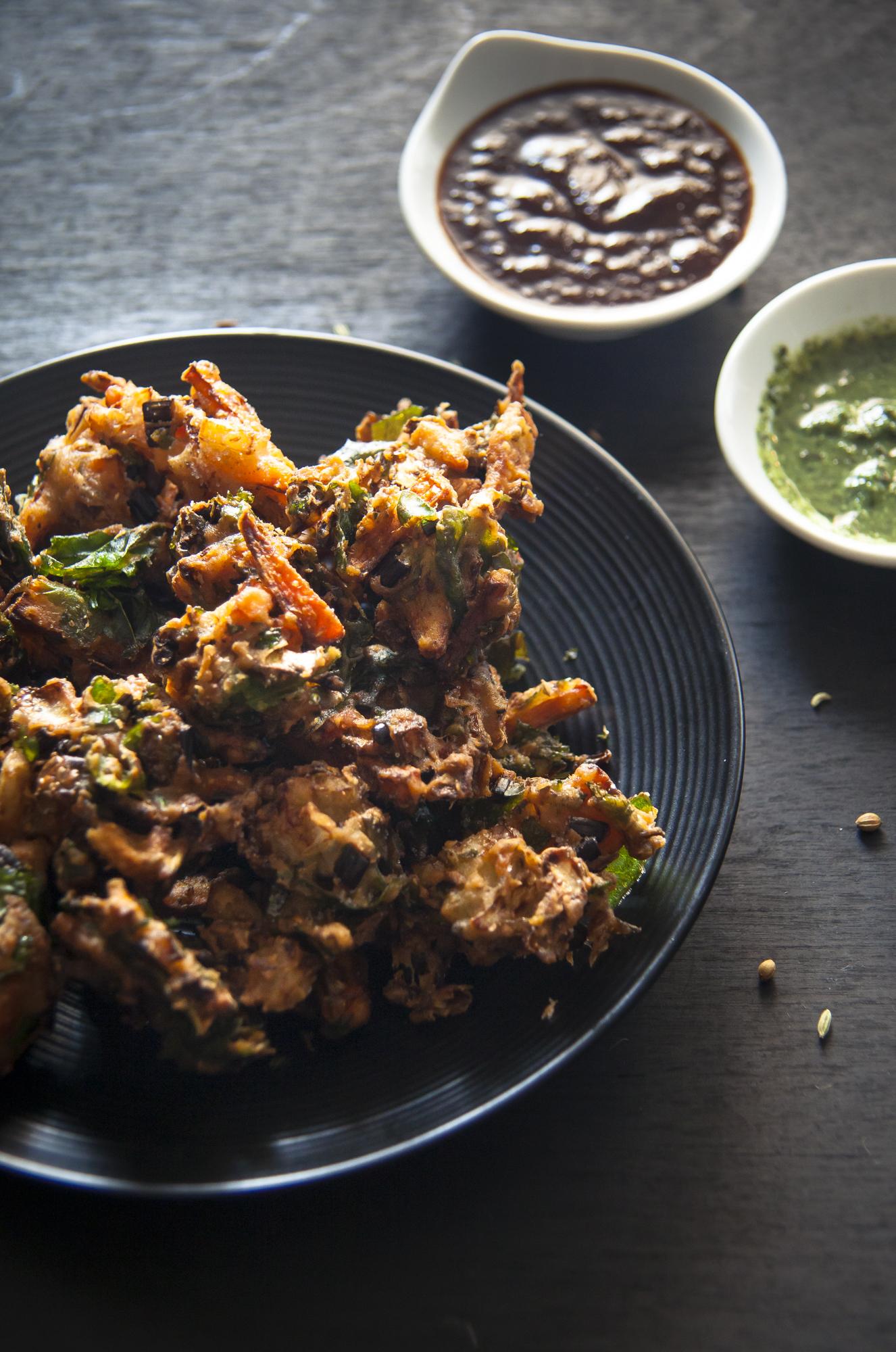 how to make indian pakora